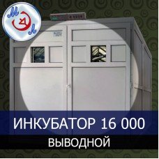 Инкубатор 16000 яиц промышленный выводной